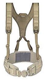 BATTLE BELT HARNESS - COYOTE TAN